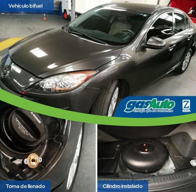 4 cilindros Mazda 3