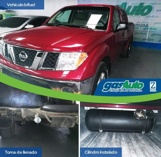 6 cilindros Nissan Frontier