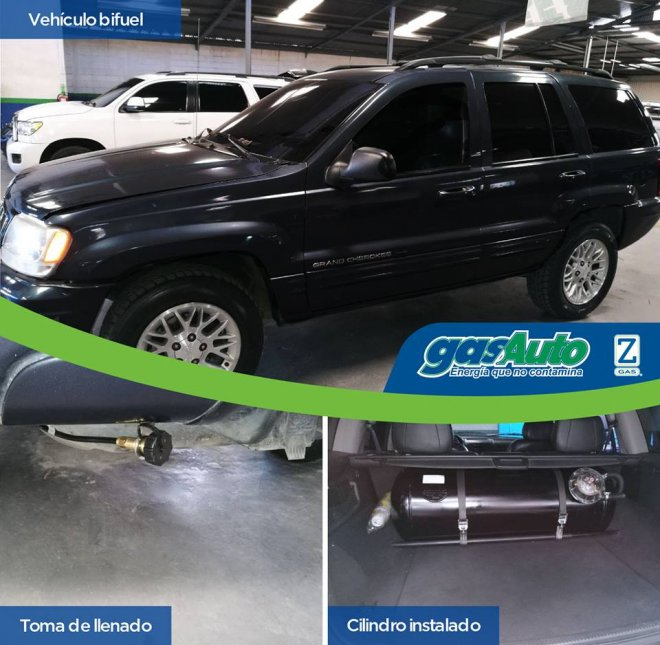 8 cilindros Jeep Grand Cherokee